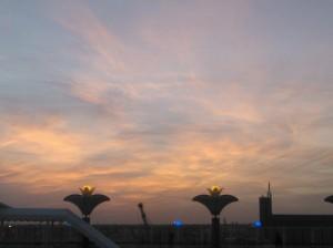 Port of Limassol sunset